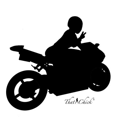 Biker Chick Lovey Dove Design