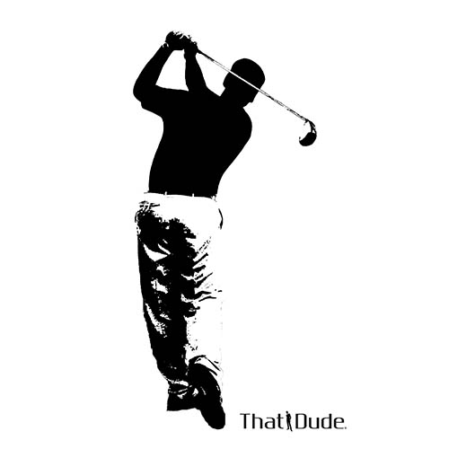 Golf Dude for the Lovey Dove Design
